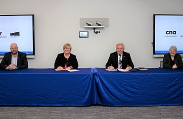 MI and CNA partner on technology degree