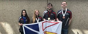 CNA students bring home medals from Skills Canada nationals
