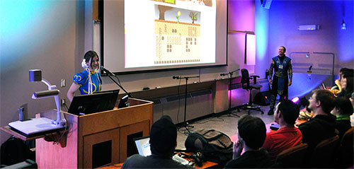 The Video Game Design program featured at Atlanticon in Corner Brook, Newfoundland